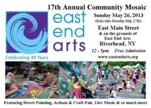 East End Arts 5-26-13 Street Mosaic & Fair