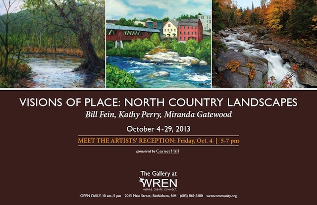 WREN Gallery Oct 4th-29th, 2013